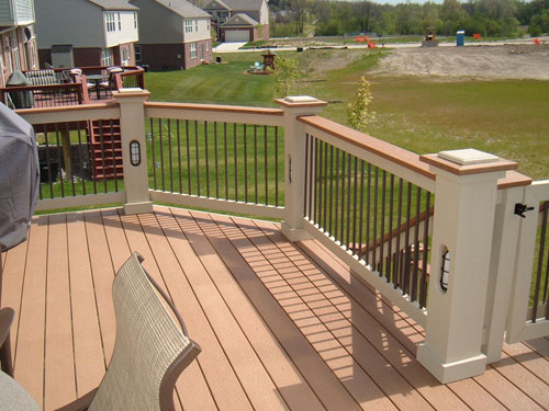 Michigan trex decks pictures down home construction for Trex decking