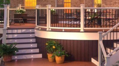 trex deck lighting. Down-home-lighting Trex Deck Lighting I